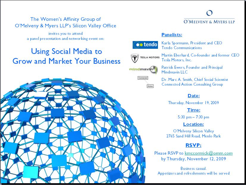 Video: Panel Discussion From November 19: Using Social Media To Grow And Market Your Business