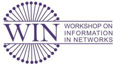 2010 Workshop On Information In Networks, September 24-25 At NYU