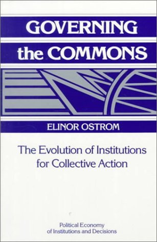 2009 – Elinor Ostrom – 8 CPR Design Principles