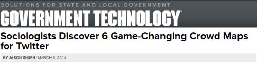 2014-GovTech-6 Kinds of social media networks