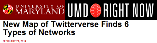 20140228-UMD-Pew-SMRF-6 Kinds of Twitter networks