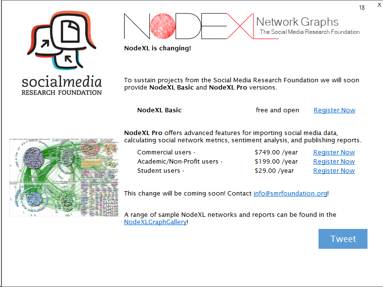 Coming October 12, 2015: NodeXL Pro – Advanced Support For Mapping Social Media Networks