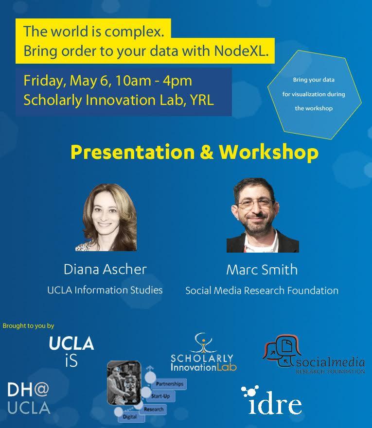 20160506-UCLA-NodeXL Workshop Flyer