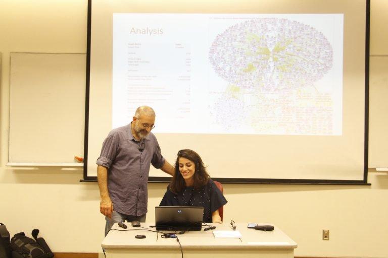 Prof. Nasri Messarra teaches with NodeXL